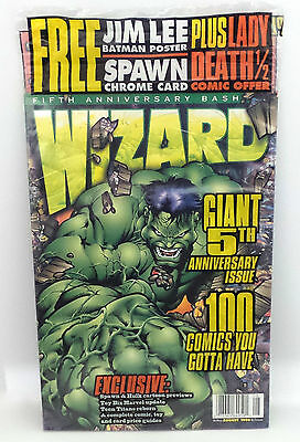 Wizard : Wizard Magazine Issued August 1996 - 5Th Anniversary Edition