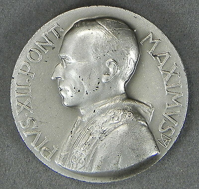 1939-1958 Pope Pivs XII Pont Maximus Medal