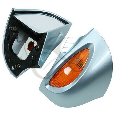 A Pair Rear View Mirrors With Turn Signal For BMW R1100RT R1100 RTP R1150 RT New