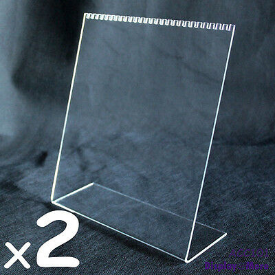 RELIABLE 2X Acrylic Necklace Chain Display Holder Stand-Clear | AUSSIE Seller