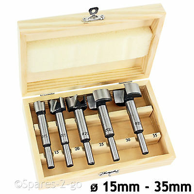 12 - 35mm Forstner Hinge Hole Boring Precision Hole Cutter Wood Drill Bit Set