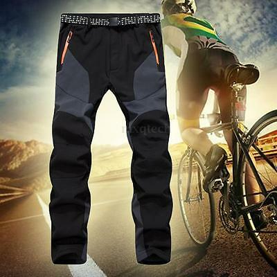 Outdoor Winter Men Warm Ski Snowboard Pants Waterproof Hiking Climbing Trousers