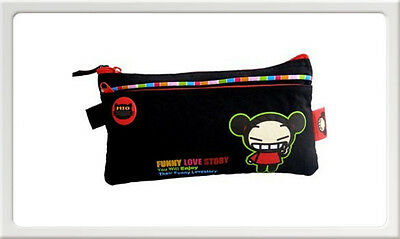 Trousse plate Pucca noire Neuf