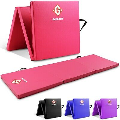 Gymnastics Mats Crash Floor Folding 5cm Thick Tri Panel Tumbling Yoga Gym 6ft