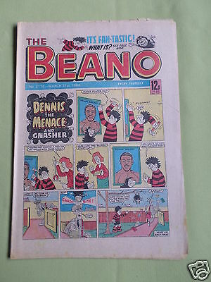 The Beano  - Uk Comic - 31 Mar 1984  - # 2176 - Vg