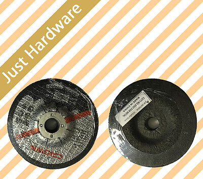 "4'' 5"" 100 125Mm Grinding Disc Wheel 6Mm Angle Grinder Cut Metal Steel Flap"