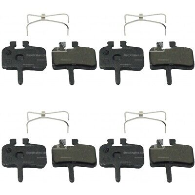4 Pairs of Ceramic Avid Juicy 7 5 3 Disc Brake Pads,B2 BB Ultimate XC DH MTB Pro