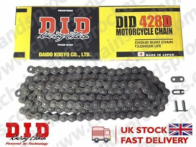 DID Standard Roller Motorcycle Chain 428D Pitch 142 links w/ Split Link