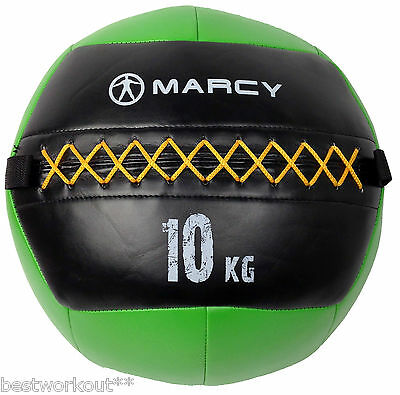 Balle de crossfit wall ball medecine ball musculation exercice fitness gym 10kg