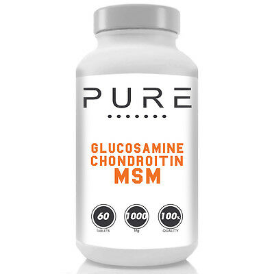 Pure Glucosamine Sulphate, Chondroitin And Msm Joint Support Pills Tabs