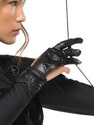 Ladies Katniss Everdeen Adult Archer Glove Fancy Dress Hunger Games Mockingjay