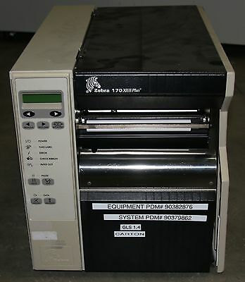 (1) Used Zebra 170III Thermal Label Printer Sold As Is