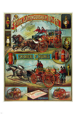 old fashion 1890 American ADVERTISING POSTER 24X36 great for home decor
