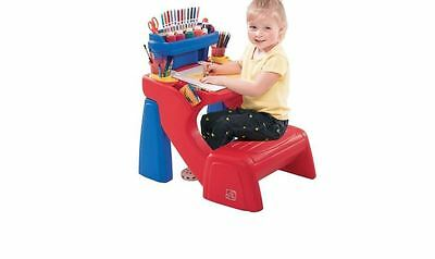Kids Step2 Write Desk Art Drawing Writing Toddlers Painting Table Supplies Store