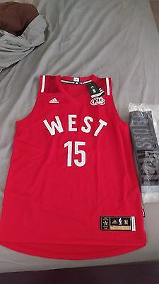 DEMARCUS COUSINS ALLSTAR jersey M- washed once 8b6755037