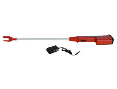 Shaft 25inch Electric Shocker Prod Livestock Pig Cattle Chargeable Battery