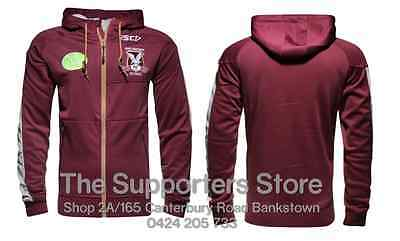 Manly Sea Eagles NRL 2016 ISC Players Squad Hoody Size S-5XL! BNWT's In Stock!
