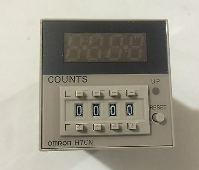 *new* Omron Industrial Automation  H7Cn-Xhns-Ac 4 Digit Counter 100 - 240 Vac