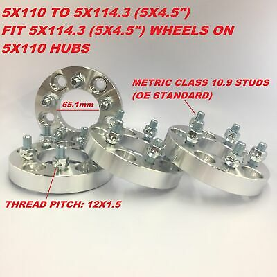 """4X Wheel Conversion Adapters 