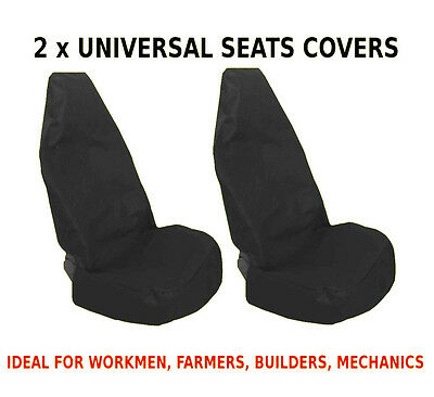 2x CAR FRONT SEAT COVERS PROTECTOR For Seat Leon MK1