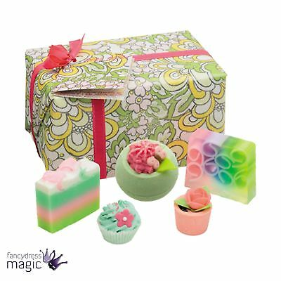Bomb Cosmetics Boho Belle Gift Box Natural Handmade Wrapped Mothers Day Bath Set