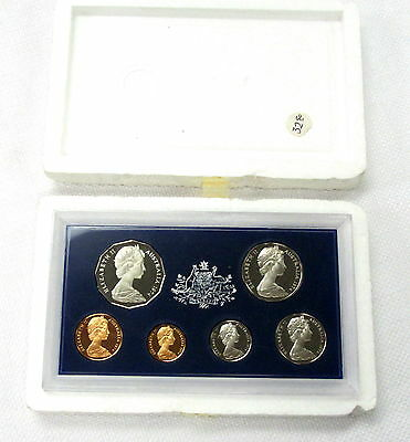 1974 Australia 6 Coin Proof Set Elizabeth Ii