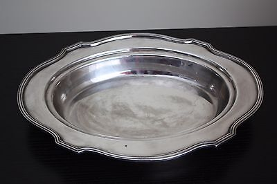 Silver Plated Tray LBSCO Lawrence B Smith Serving Tray 11 1/4 in X 8 1/2 inches