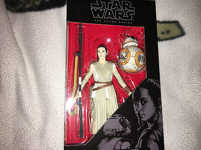 Star wars  the force awakens  the  black  series   Rey and  BB-8   figure set