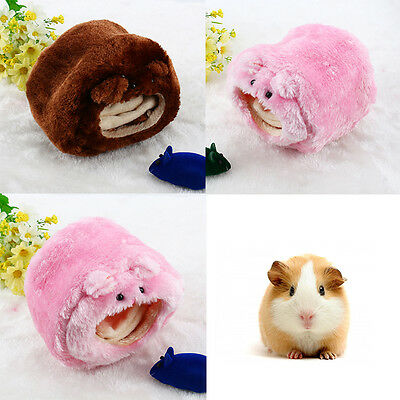 Warm Cotton Bed Rat Hamster Parrot Ferret Rabbit Squirrel Small Pet Toy House