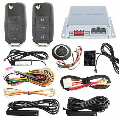 Top Quality PKE Car Alarm System Spare HAA Key Remote Engine Start Touch Keypad