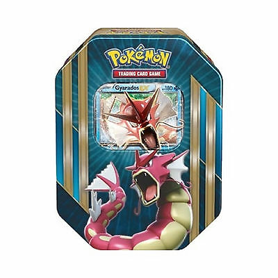 Pokemon Cards - Gyarados Ex Spring 2016 Collectors Tin - Booster Packs + Promo
