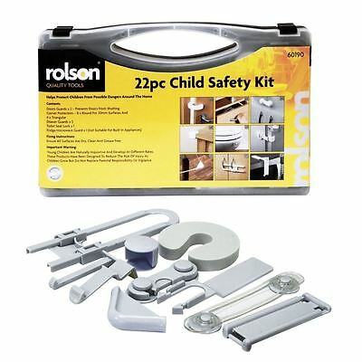 Home Baby Safety Kit 22Pc Set Children Proof Drawer Door Guard Corner Protectors