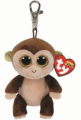 "TY Beanie Boo Key Clip 3"" Audrey the Monkey - Collectable Plush"