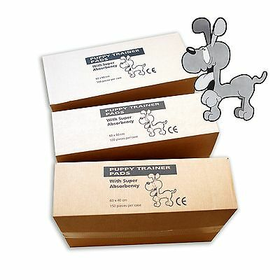 100 PUPPY TRAINING PADS (60 x  40cm)