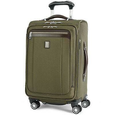 Travelpro Platinum Magna 2 Expandable Spinner Suiter 21 Inches - Olive