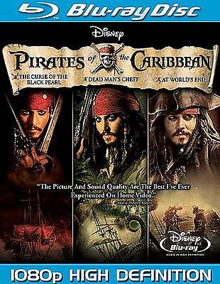 Pirates of the Caribbean Trilogy [Blu-ra Blu-ray
