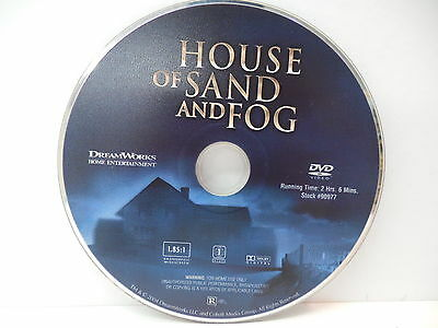 House Of Sand And Fog DVD Movie Jennifer Connelly Ben Kingsley Drama  NO CASE