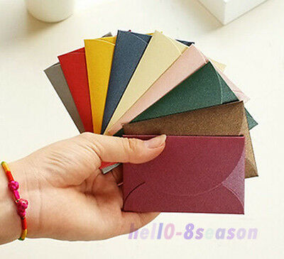 10PCs Paper Envelope Cute Mini Envelopes Vintage European Card Scrapbooking Gift