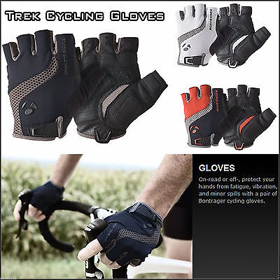 Trek Bontrager Cycling Gloves Bicycle Bike Half Finger Anti Skid Silicone Gloves