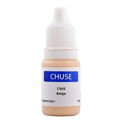 Chuse Permanent Makeup SKIN Color Micro Pigment Cosmetic Tattoo Ink 10ml/bottle