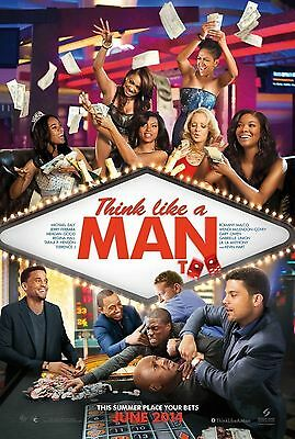 THINK LIKE A MAN TOO - Movie Poster - Flyer - 11 X 17 - KEVIN HART