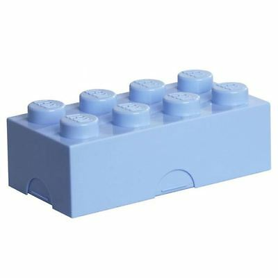 Lego Lunch Box / Storage Brick New - Light Blue