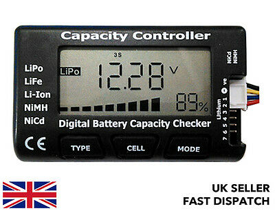 Cellmeter-7 Battery Capacity/Voltage Checker/Tester Meter LiPo LiFe Li-ion NiMH