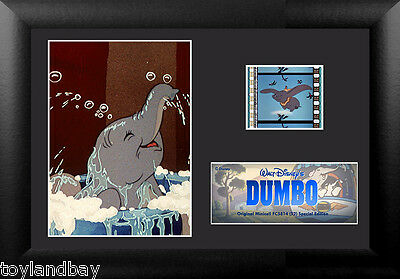 Film Cell Genuine 35mm Framed & Matted Walt Disney Dumbo S1 USFC5814 Special Ed