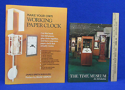 Make Your Own Working Paper Clock Use This Book Rudolph & The Time Museum