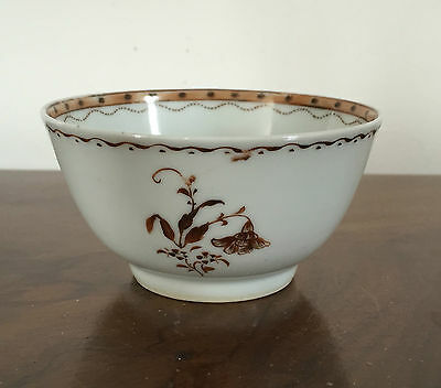 Antique Chinese Export Porcelain Tea Cup Bowl Sprig 18th century 1800