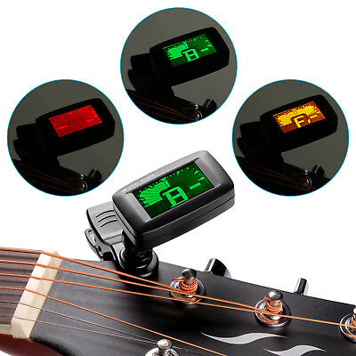 NW-200D  Screen Light Chromatic Clip-on Tuner for Guitar Bass Violin EM#12