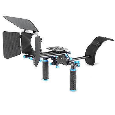 Neewer Movie Video Making Rig Set System with Shoulder Mount f Canon Nikon Sony