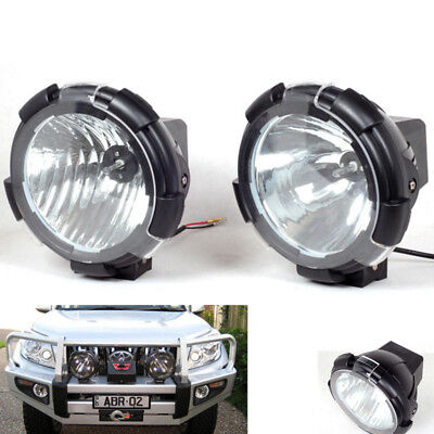 2x HID Xenon Driving Light 7Inch 100W Spot Beam Off-Road 12V Working Lamp Turck
