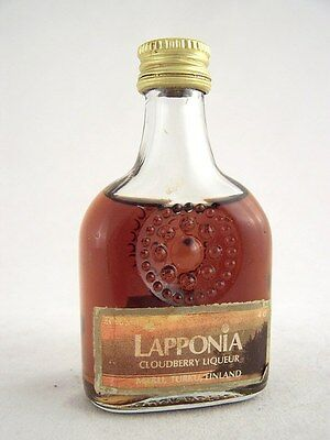 Miniature circa 1983 LAPPONIA CLOUDBERRY LIQUEUR Isle of Wine